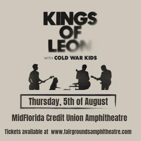 Kings of Leon at MidFlorida Credit Union Amphitheatre