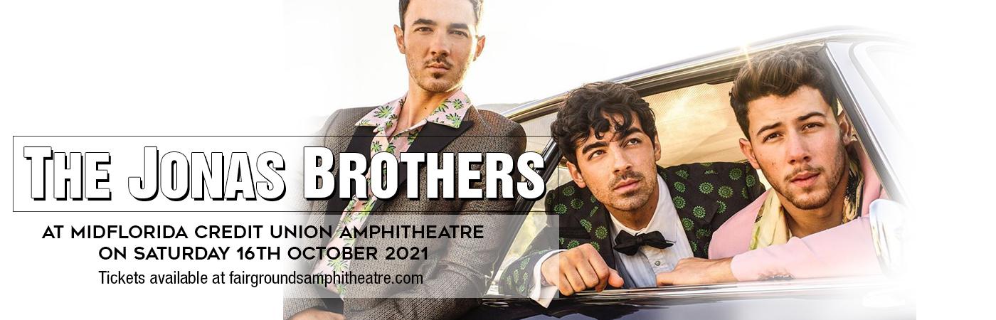 The Jonas Brothers at MidFlorida Credit Union Amphitheatre