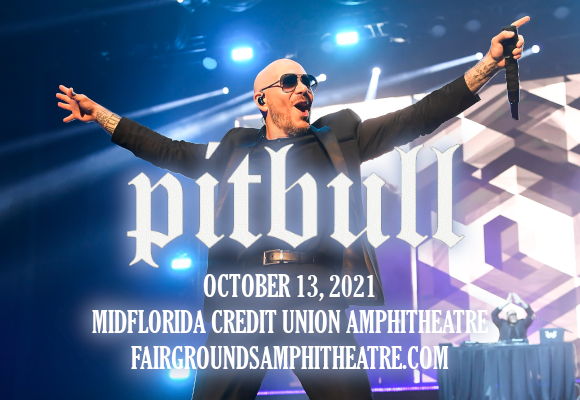 Pitbull at MidFlorida Credit Union Amphitheatre