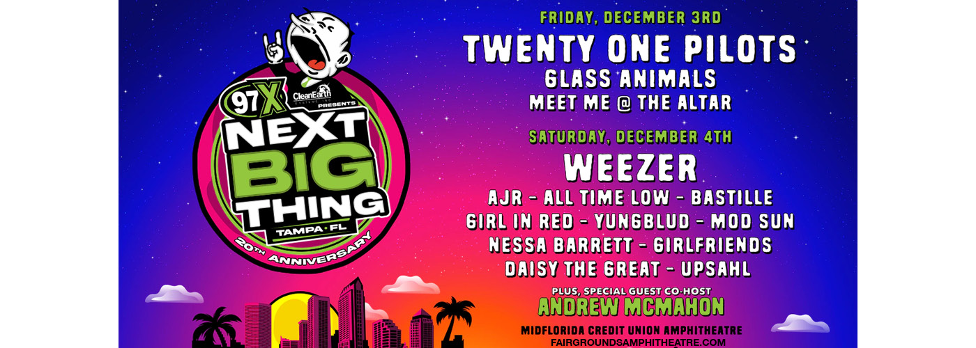 97X Next Big Thing - Saturday at MidFlorida Credit Union Amphitheatre