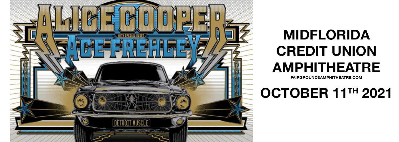 Alice Cooper & Ace Frehley at MidFlorida Credit Union Amphitheatre