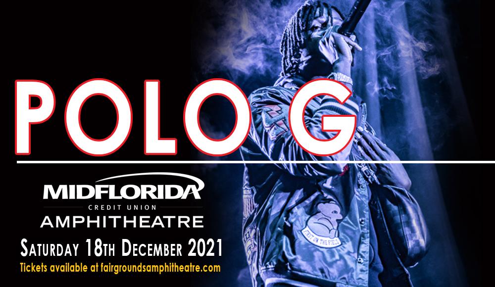 Polo G [CANCELLED] at MidFlorida Credit Union Amphitheatre