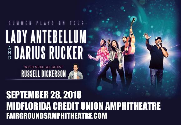 Lady Antebellum, Darius Rucker & Russell Dickerson at MidFlorida Credit Union Amphitheatre