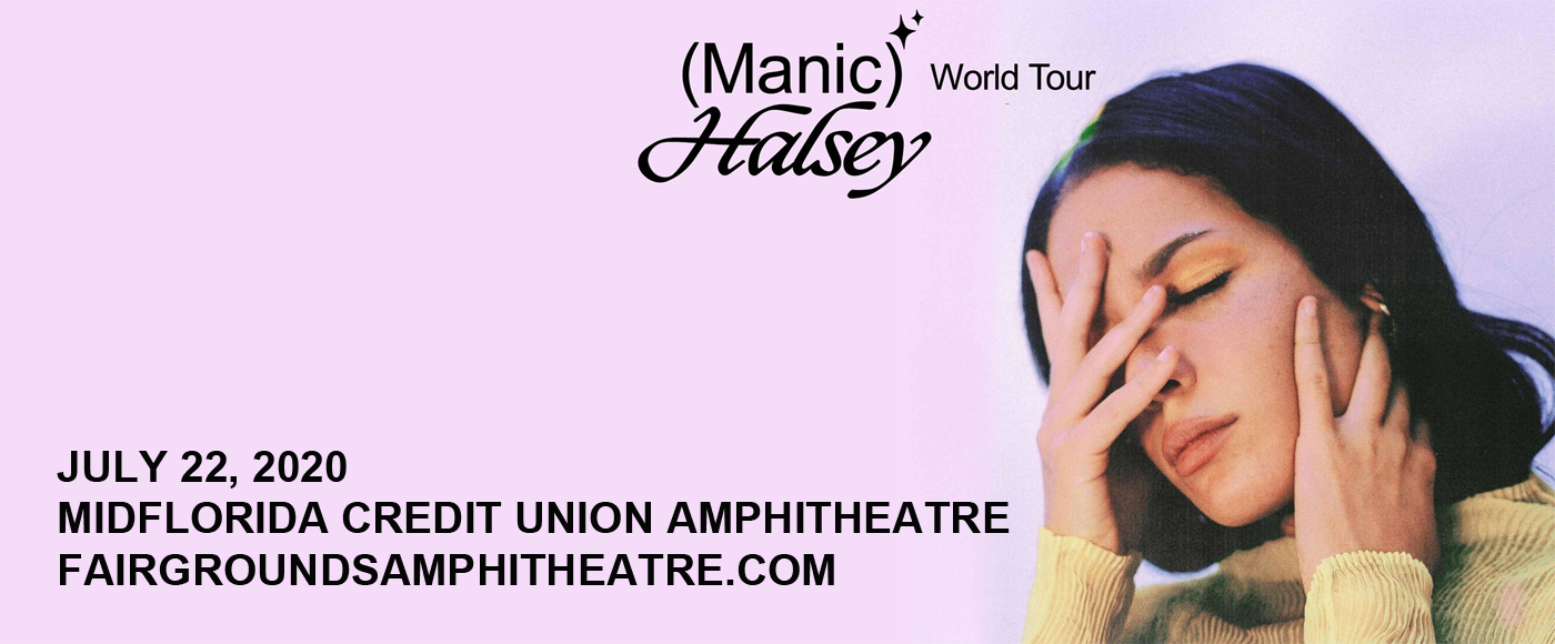 Halsey [CANCELLED] at MidFlorida Credit Union Amphitheatre