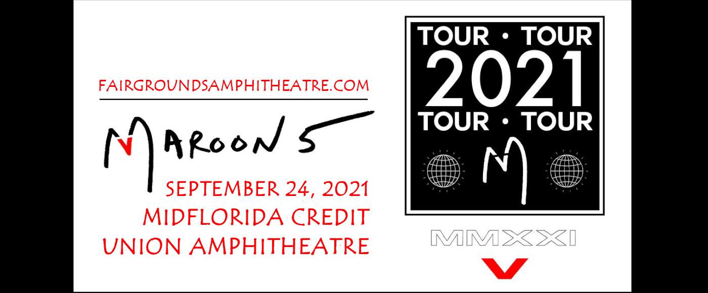 Maroon 5 & Meghan Trainor at MidFlorida Credit Union Amphitheatre