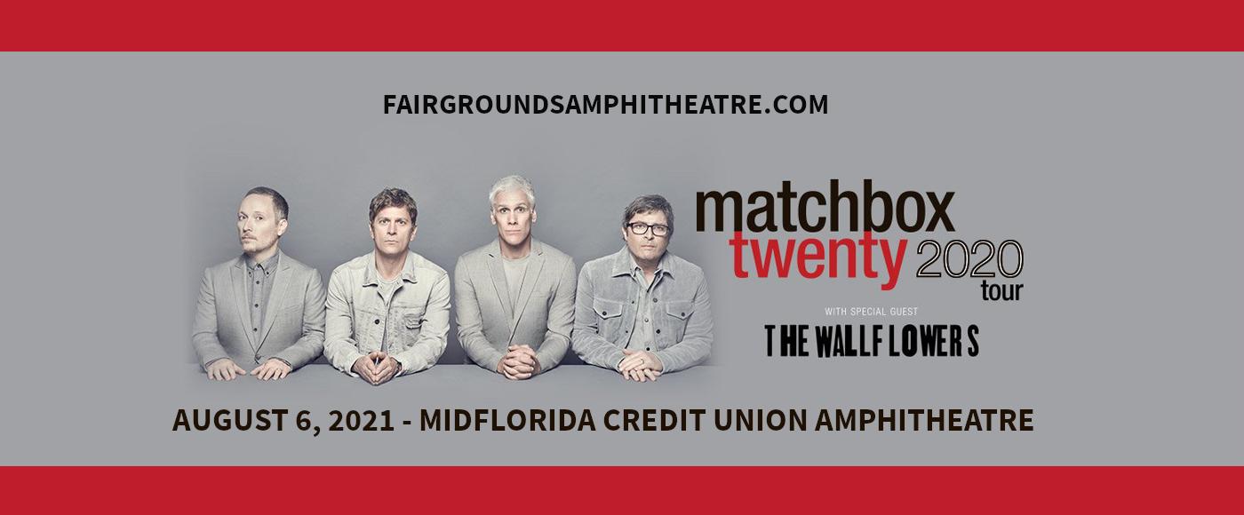 Matchbox Twenty & The Wallflowers at MidFlorida Credit Union Amphitheatre