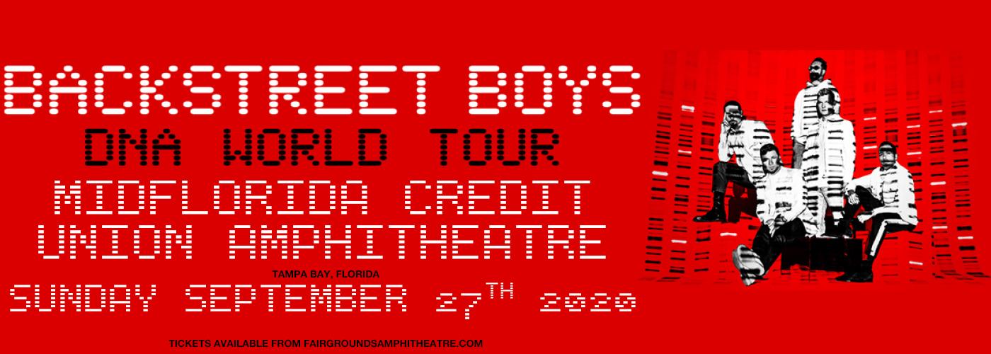 Backstreet Boys at MidFlorida Credit Union Amphitheatre