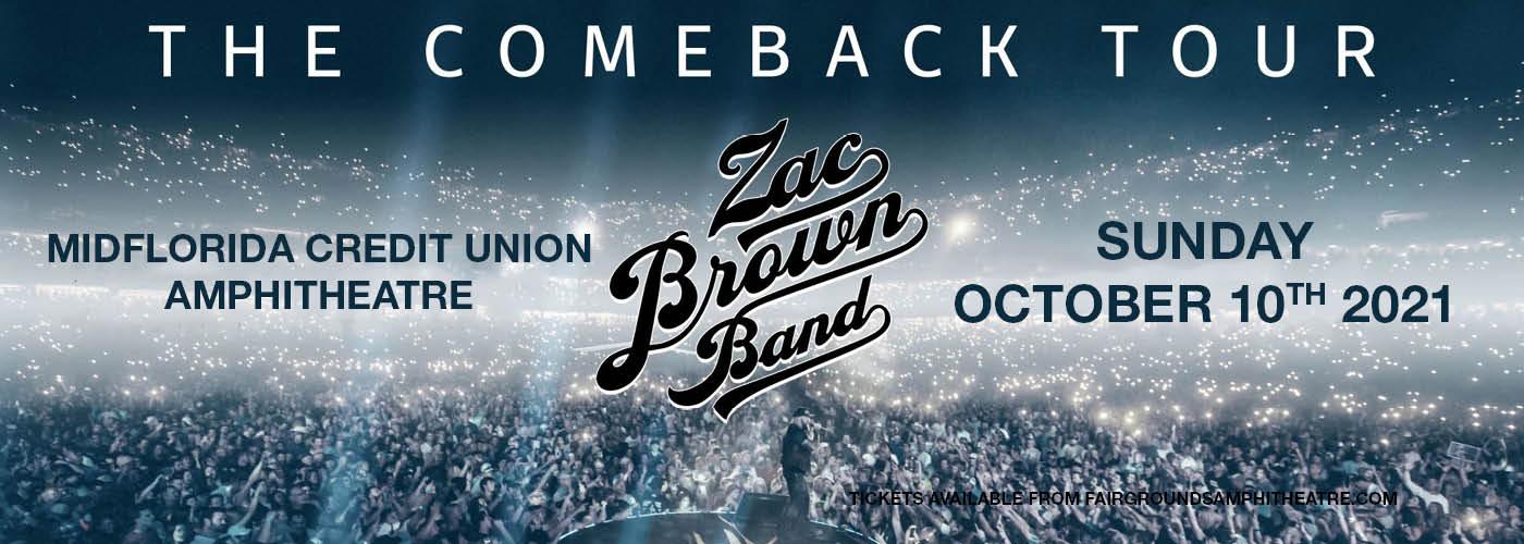 Zac Brown Band at MidFlorida Credit Union Amphitheatre