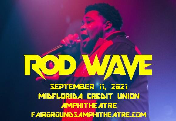 Rod Wave at MidFlorida Credit Union Amphitheatre