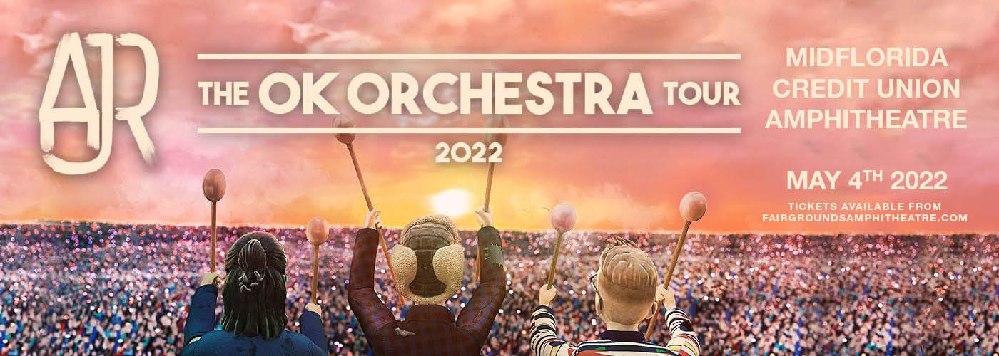 AJR: OK ORCHESTRA Tour at MidFlorida Credit Union Amphitheatre